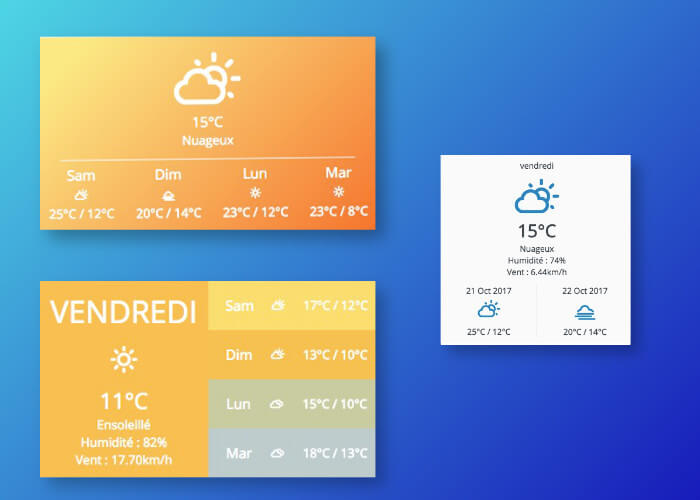 Module Joomla Météo Weather